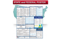 State and Federal All-in-One Labor Law Poster - English