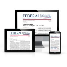 Federal Employment Law Insider