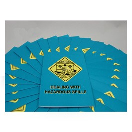 Dealing With Hazardous Spills Employee Booklet - in English or Spanish (package of 15)