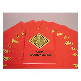 OSHA Recordkeeping Booklet - in English or Spanish  (package of 15)