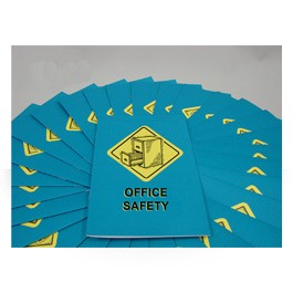 Office Safety Employee Booklet - in English or Spanish (package of 15)