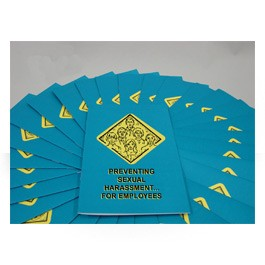 Sexual Harassment for Employees Employee Booklet - in English or Spanish (package of 15)