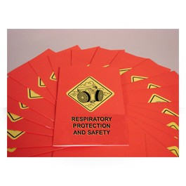 Respiratory Protection and Safety Booklet - in English or Spanish (package of 15)