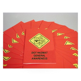 DOT HAZMAT General Awareness Employee Booklet - in English or Spanish