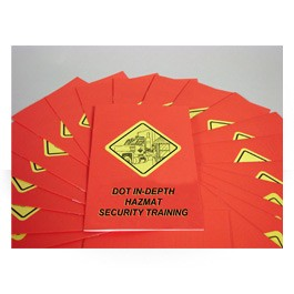 DOT In-Depth HAZMAT Security Employee Booklet - in English or Spanish (package of 15)