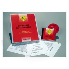 DOT HAZMAT Safety Training CD-ROM Course - in English or Spanish