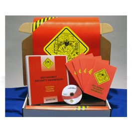 DOT HAZMAT Security Awareness Regulatory Compliance Kit - in English or Spanish