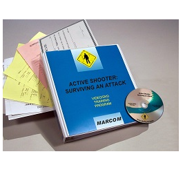 Active Shooter: Surviving an Attack DVD Program -  in English or Spanish