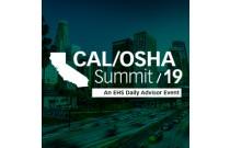 Cal/OSHA Summit 2019