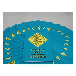 Handling A Sexual Harassment Investigation Employee Booklet