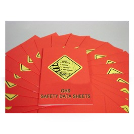GHS Safety Data Sheets Employee Booklet - in English or Spanish (package of 15)