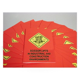 Scissor Lifts Employee Booklets - in English or Spanish (package of 15)