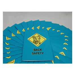 Back Safety Employee Booklet - in English or Spanish (package of 15)