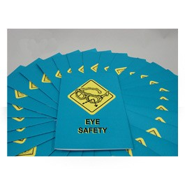 Eye Safety Employee Booklet - in English or Spanish (package of 15)