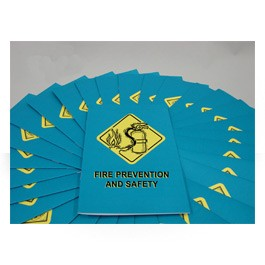 Fire Prevention & Safety Employee Booklet - in English or Spanish (package of 15)