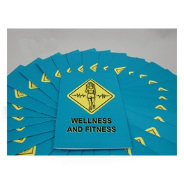 Wellness & Fitness Employee Booklet - in English or Spanish (package of 15)