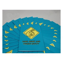Hand, Wrist & Finger Safety Employee Booklet - in English (package of 15)