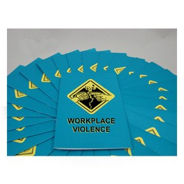 Workplace Violence Employee Booklet - in English or Spanish (package of 15)
