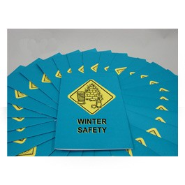 Winter Safety Employee Booklet - in English or Spanish (package of 15)