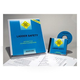 Ladder Safety in Construction Environments CD-ROM Course - in English or Spanish