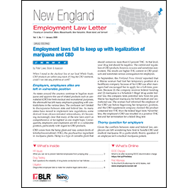 New England Employment Law Letter