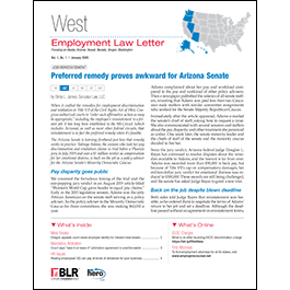 West Employment Law Letter