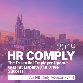 HR Comply 2019 | The Nation's Leading HCM and Employment Law Event