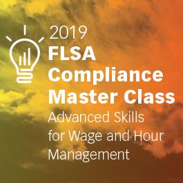 Texas: 2019 FLSA Master Class