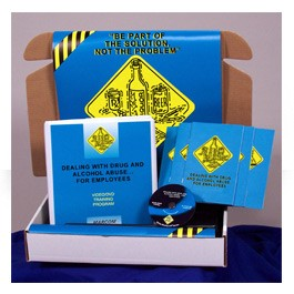 Dealing with Drug and Alcohol Abuse for Employees Safety Meeting Kit