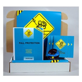 Fall Protection in Construction Environments Construction Safety Kit - in English or Spanish