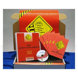GHS Safety Data Sheets Regulatory Compliance Kit - in English or Spanish