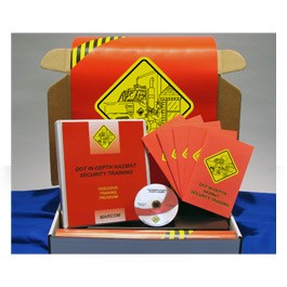 DOT In-Depth HAZMAT Security Regulatory Compliance Kit - in English or Spanish
