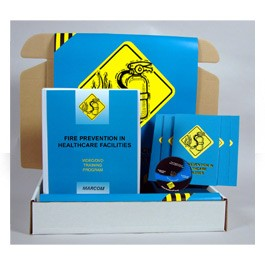 Fire Prevention in Healthcare Safety Meeting Kit - in English or Spanish