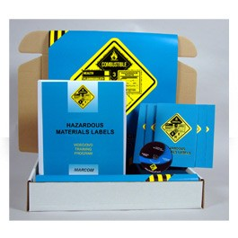 Hazardous Materials Labels Safety Meeting Kit - in Spanish or English