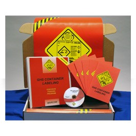 GHS Container Labeling... in Construction Environments Construction Safety Kit - in English or Spanish
