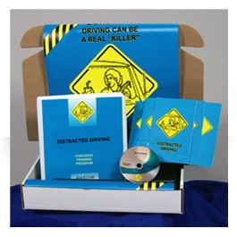 Distracted Driving Safety Meeting Kit - in English or Spanish