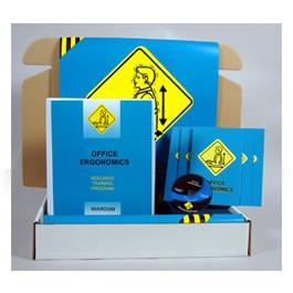 Office Ergonomics Safety Meeting Kit - in English or Spanish
