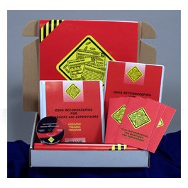 OSHA Recordkeeping for Managers and Supervisors Regulatory Compliance Kit - in English or Spanish