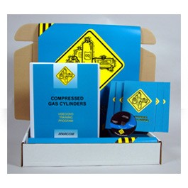 Compressed Gas Cylinders Safety Meeting Kit - in English or Spanish