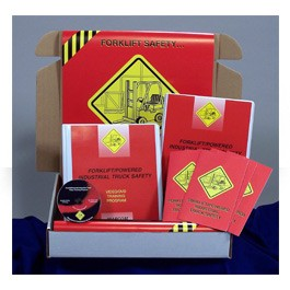 Forklift/Powered Industrial Truck Safety Regulatory Compliance Kit - in English or Spanish