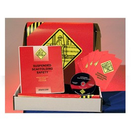 Suspended Scaffolding Safety Regulatory Compliance Kit - in English or Spanish