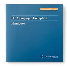 FLSA Employee Exemption Handbook