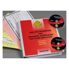 OSHA Recordkeeping for Managers, Supervisors and Other Employees DVD Package - in English or Spanish