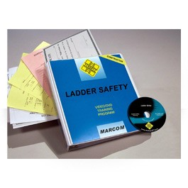 Ladder Safety in Construction Environments DVD Program - In English or Spanish