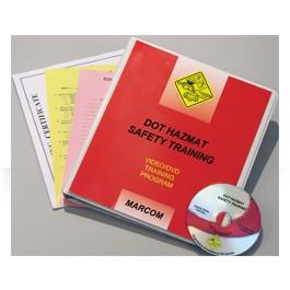 DOT HAZMAT Safety Training DVD Program - in English or Spanish