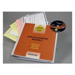 Handling Hazardous Materials DVD Program - in English or Spanish