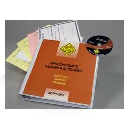Introduction to HAZWOPER Retraining DVD Program - in English or Spanish