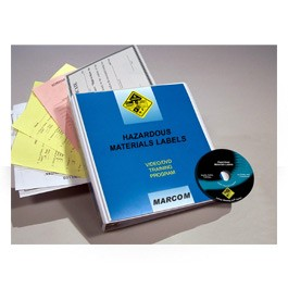 Hazardous Materials Labels DVD Program - in English or Spanish