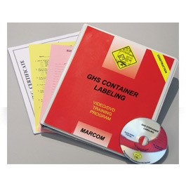 GHS Container Labeling... in Construction Environments DVD Program  - in English or Spanish