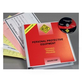 Personal Protective Equipment in Construction Environments DVD Program - in English or Spanish